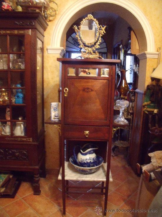 Antiguo mueble modernista de principio de siglo vendido en venta directa 39718569 - Mueble de bano antiguo ...