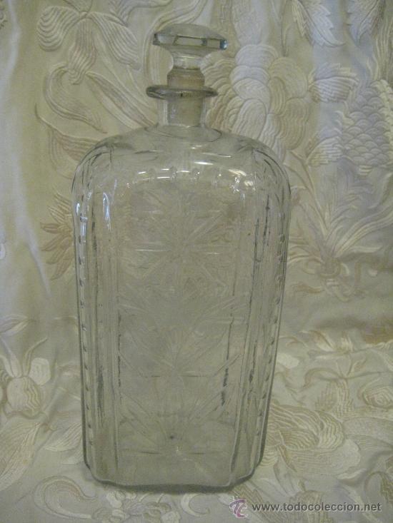 Antigüedades: Botella - garrafa de cristal de la Granja del siglo 18 - Foto 3 - 28867405