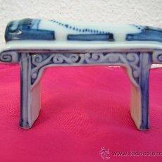Antigüedades: PIEZA ORIENTAL - BISCUIT - SHINTO (?). Lote 28882623