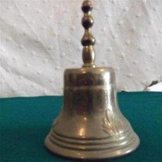 Antigüedades: CAMPANA DE METAL. Lote 28884868
