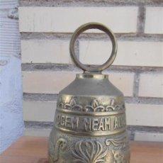 Antigüedades: CAMPANA GRANDE DE BRONCE. Lote 28884935