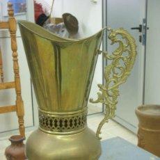 Antigüedades: JARRA DE LATON. Lote 28891075