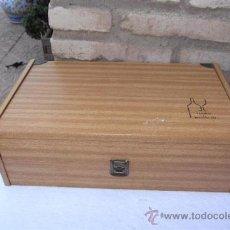 Antigüedades: CAJA DE MADERA. Lote 28921106