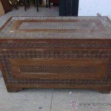 Antigüedades: ARCON DE MADERA EXOTICA. Lote 28957599