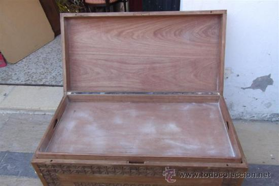 Antigüedades: arcon de madera exotica - Foto 3 - 28957599