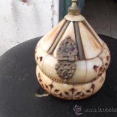 Antigüedades: CAJA DE HUESO. Lote 28957970