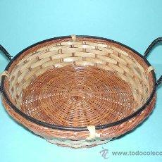 Antigüedades: PEQUEÑA CESTA DE 17CM DE DIÁMETRO. Lote 29005031
