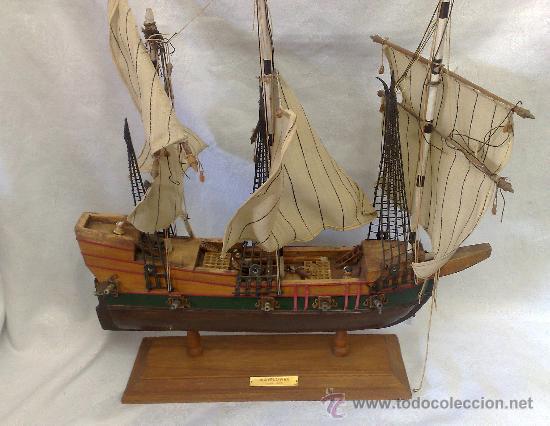 Antiguo barco decorativo en madera circa 1960 comprar - Antiguedades de barcos ...