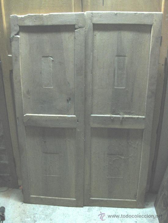 Puertas de armario de nogal a restaurar hav an comprar - Restaurar armario antiguo ...
