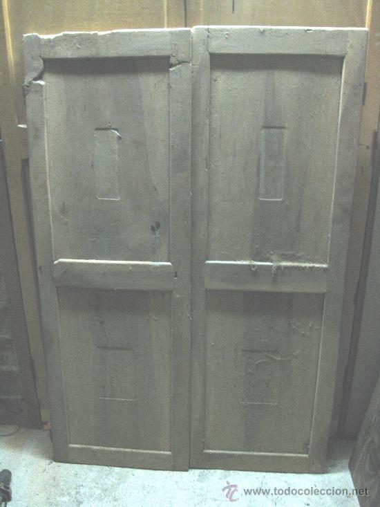 Puertas de armario de nogal a restaurar hav an comprar - Restaurar armarios antiguos ...