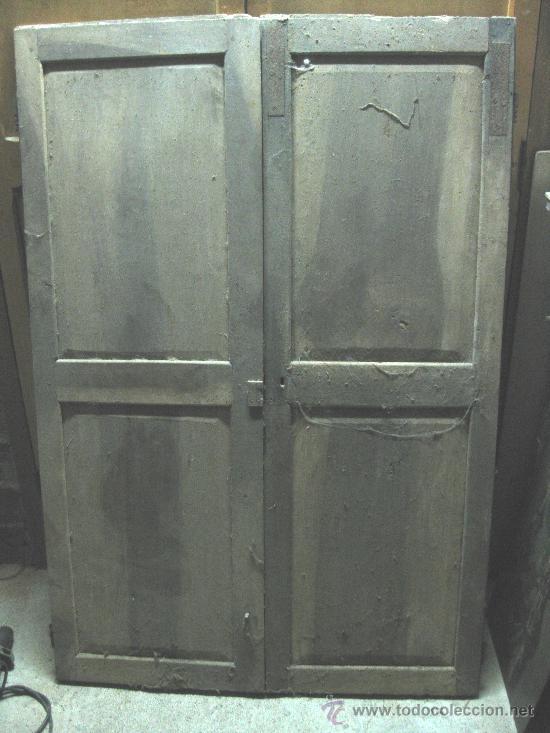Puertas de armario de nogal a restaurar hav an comprar - Restaurar armario ...