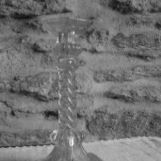 Antigüedades: CANDELABRO DE CRISTAL. Lote 29085446