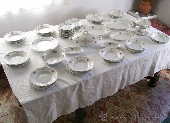 VAJILLA DE SANTA CLARA (Antigüedades - Porcelanas y Cerámicas - Santa Clara)