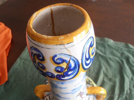Antigüedades: JARRON, ANFORA DE CERAMICA DE TALAVERA - Foto 4 - 29088693