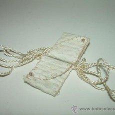 Antigüedades: ANTIGUO ESCAPULARIO DE TELA.. Lote 29092917