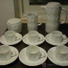 Antigüedades: JUEGO DE CAFE F-73 DE SARGADELOS SIN ESTRENAR. 6 SERVICIOS.. Lote 29108449