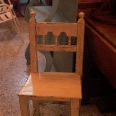 Antigüedades: SILLA MADERA . Lote 29112399