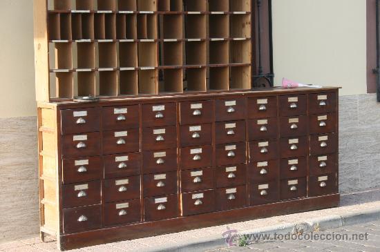 Mueble de madera con 40 cajon comprar for Muebles con cajones de madera