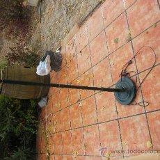 Antigüedades: PIE DE LAMPARA TIPO QUINQUÉ 122 CMS. Lote 29139390