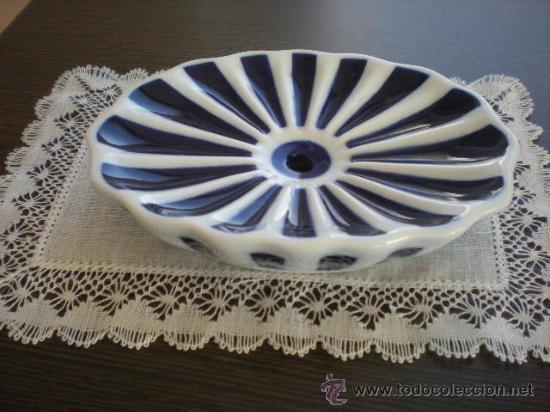 JABONERA DE SARGADELOS (12,5 CM) SIN ESTRENAR. EN . (Antigüedades - Porcelanas y Cerámicas - Sargadelos)