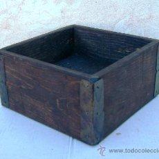 Antigüedades: CELEMIN DE MADERA , MEDIDA, APERO DE LABRANZA ,,,APE365. Lote 29163719