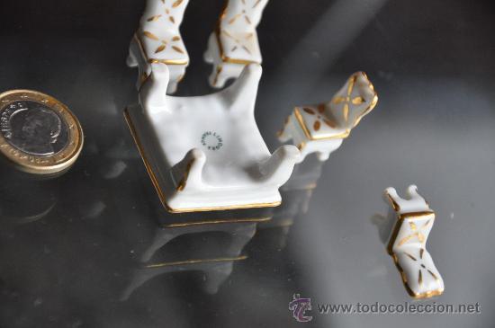 Antigüedades: juego mesa sillas limoges france porcelana ideal para casa de muñecas miniatura - Foto 2 - 29240761