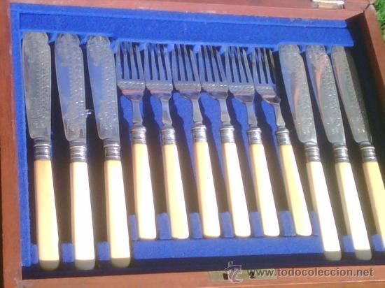 Cuberter a siglo xix comprar ba ado en plata antigua en - Precio cuberteria plata ...