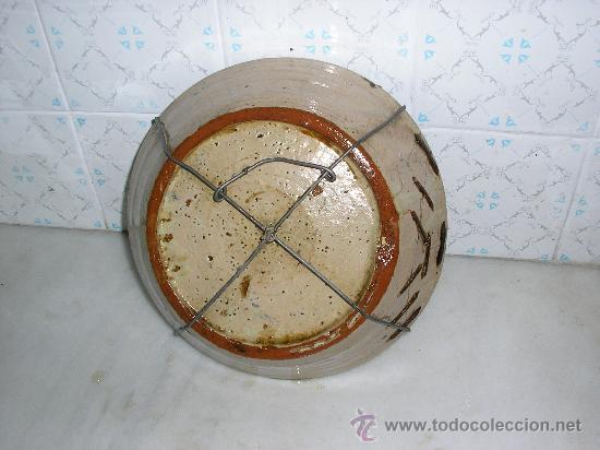 Antigüedades: PLATO ONDO **FAJALAUZA SERIE AZUL -SIGLO XVIII-** SOL - Foto 2 - 29175854