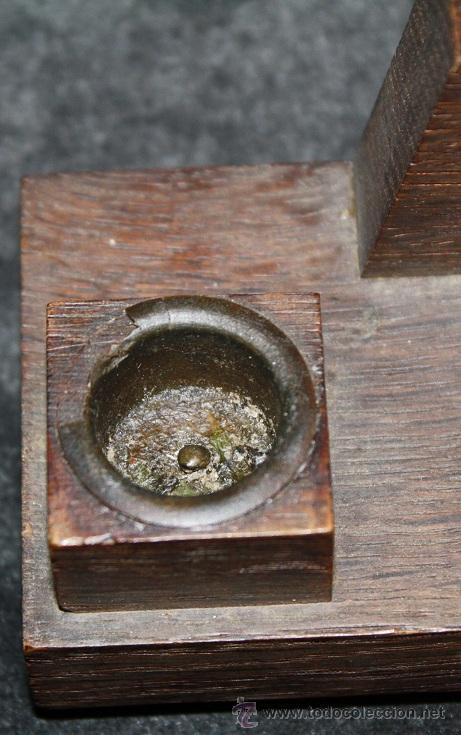 Antigüedades: bonito benditero - Foto 4 - 29181303