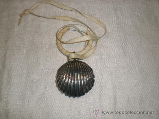 SONAJERO DE PLATA (Antigüedades - Platería - Plata de Ley Antigua)