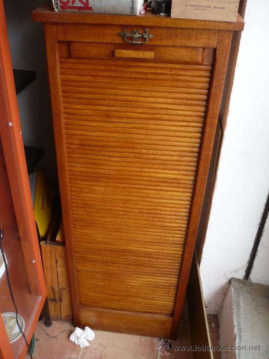 Antiguo archivador o clasificador de madera comprar - Muebles antiguos de madera ...
