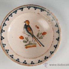 Antigüedades: PLATO DE CERÁMICA CATALAN DE LA BISBAL, CIRCA 1900. Lote 29212060