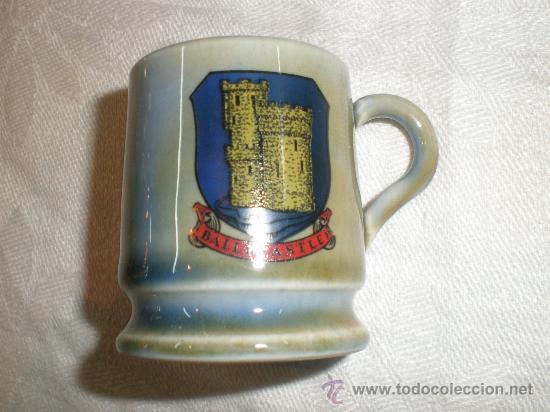 JARRA EN MINIATURA DE CERVEZA (Antigüedades - Porcelanas y Cerámicas - Inglesa, Bristol y Otros)