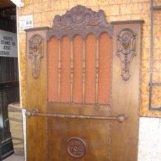 Antigüedades: PERCHERO DE PARED ANTIGUO. Lote 29224021