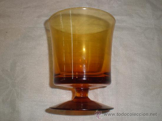 COPA DE CRISTAL DE GUARDIOLA (Antigüedades - Cristal y Vidrio - Mallorquín)