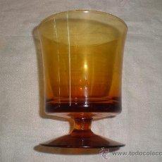 Antigüedades: COPA DE CRISTAL DE GUARDIOLA. Lote 29230015