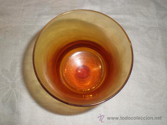 Antigüedades: copa de cristal de guardiola - Foto 2 - 29230015
