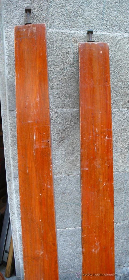 Antigüedades: Cama isabelina de caoba 153 cm de largo x 197 cm de alto. - Foto 7 - 29238099