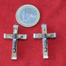 Antigüedades: LOTE DE 4 CRUCES NUEVAS. Lote 29249299