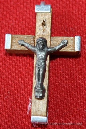 Antigüedades: lote de 4 cruces nuevas - Foto 2 - 29249299