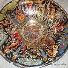 Antigüedades: ANTIGUO PLATO FIRMADO ROYO. Lote 29291638