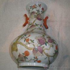 Antigüedades: JARRON DE PORCELANA CHINO. Lote 96066938
