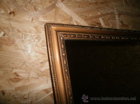 Antiguo espejo de recibidor marco dorado comprar espejos - Espejo veneciano antiguo ...