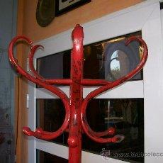 Antigüedades: PERCHERO DE PIE. Lote 29439178