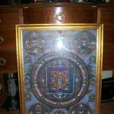 Antigüedades - CUADRO INDIO- MANTRAS - 29439800