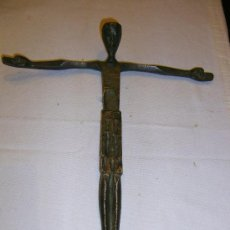 Antigüedades: CRUCIFIJO BRONCE . Lote 29313206