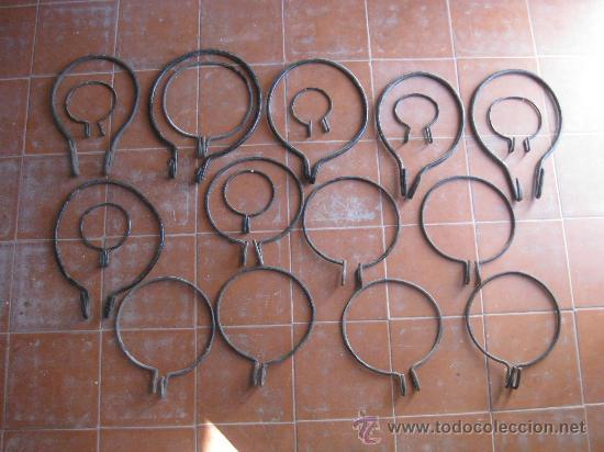aros de hierro para colocar macetas en balcones - comprar
