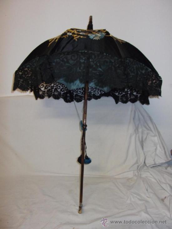 Antigua sombrilla parasol medianos siglo xix se comprar moda antigua de mujer en todocoleccion - Precio de sombrillas ...