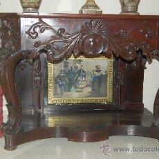 Antigüedades: ESPECTACULAR CONSOLA. Lote 29376735