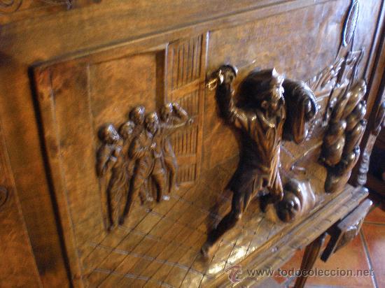 Antigüedades: BARGUEÑO ESTILO RENACIMIENTO - Foto 2 - 29378063